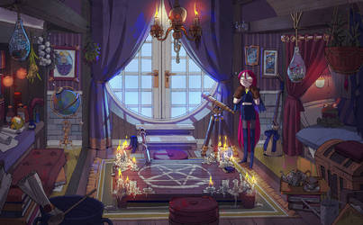 Witch's room
