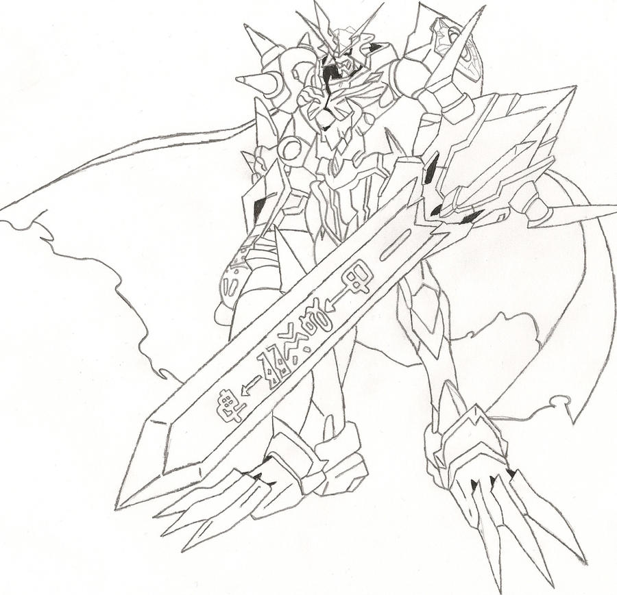 digimon data squad coloring pages - photo#24