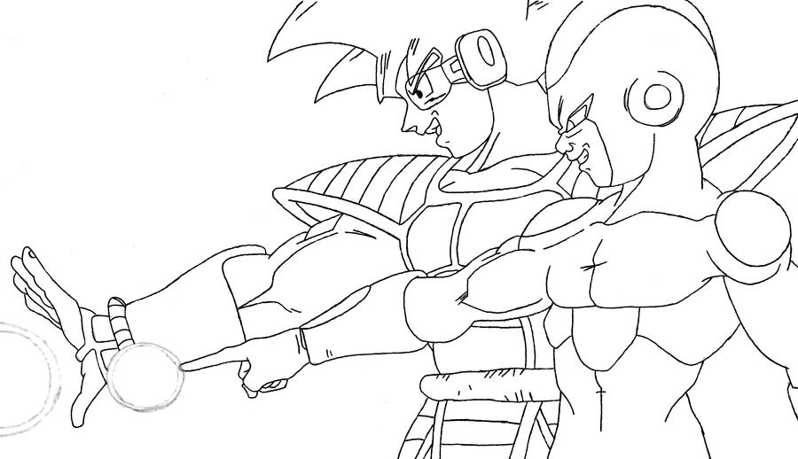 dbz coloring pages frieza - photo#43