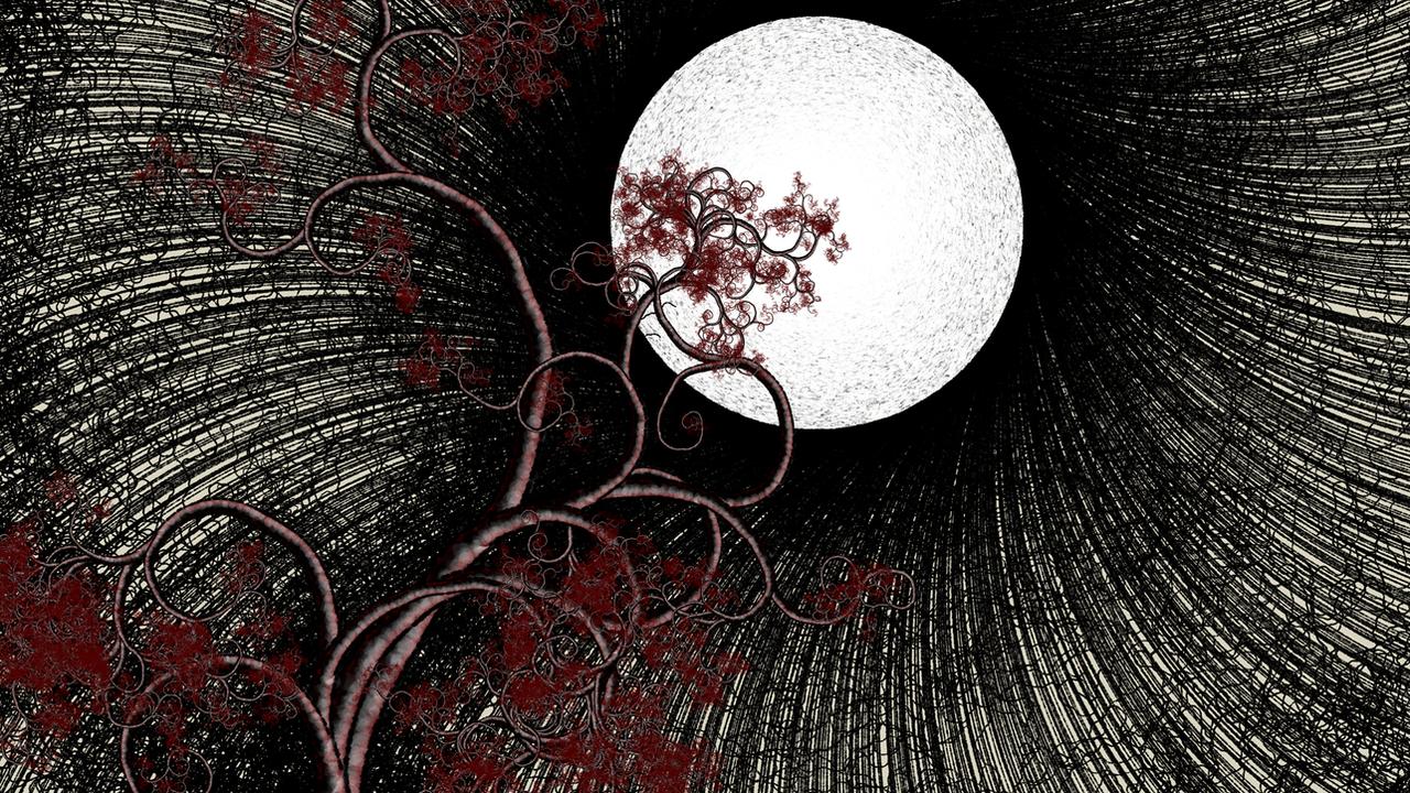 Black Hole Sun - Generative Art by netgenetics