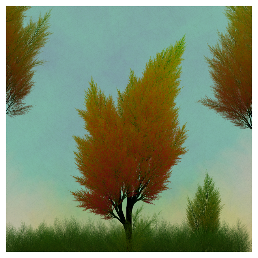 Generative Autumn Tree - variation FVP by netgenetics