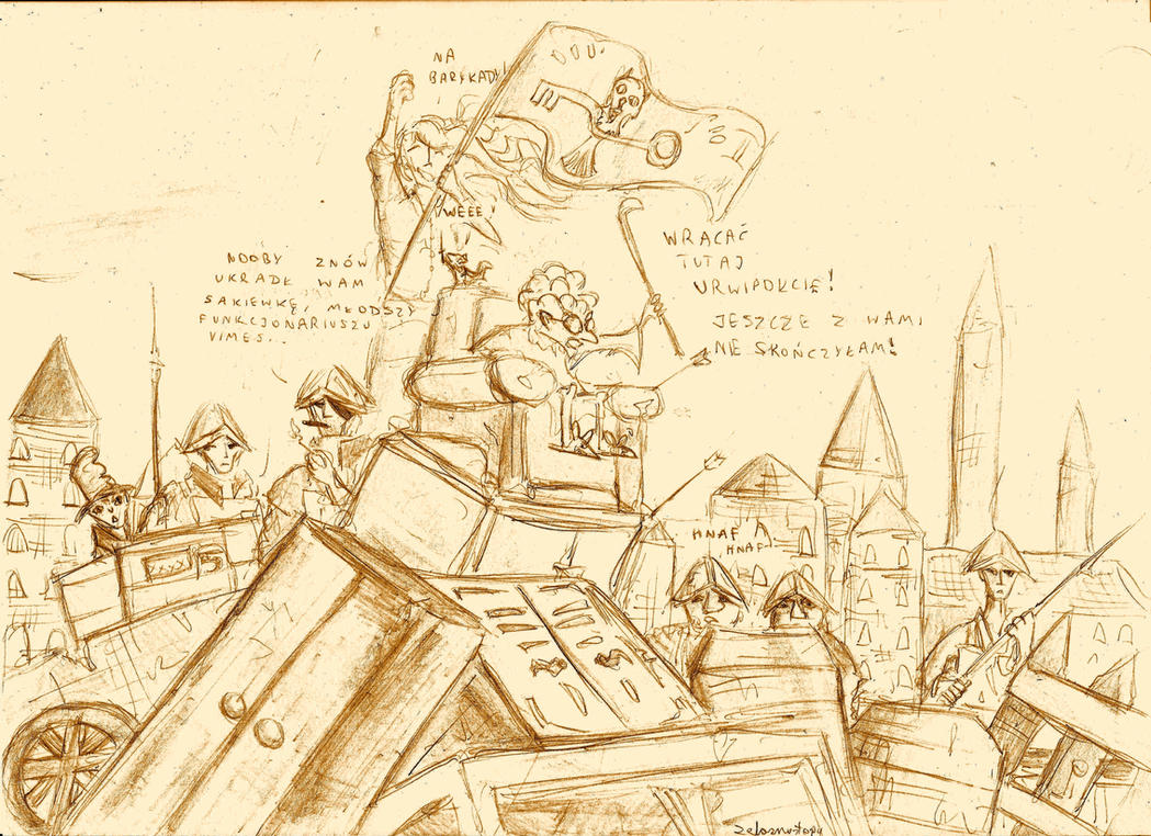 One Day in Discworld by zelaznostopy