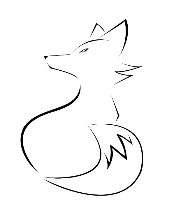Fox Face Line Drawing : Fox tattoo by killthedrummer on deviantart