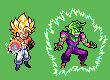 Gogeta and Piccolo