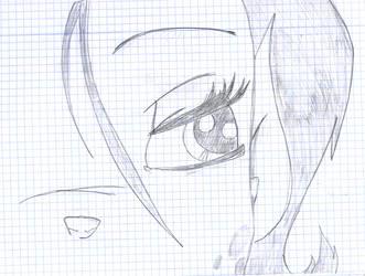 Talwyn's eye by KazumyHinata