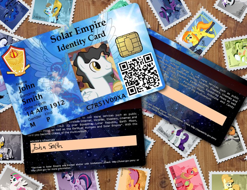 List of Pony ID Cards by jeurobrony