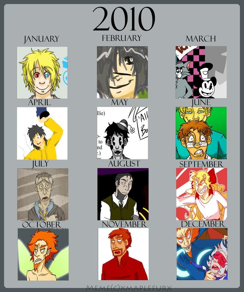 2010 Meme By Mellow-monsters On DeviantArt