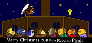 Merry Christmas From Robot The Pirate