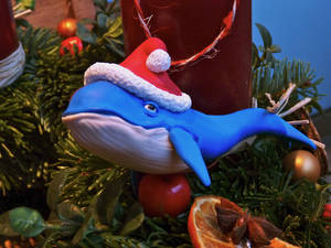 Christmas whale
