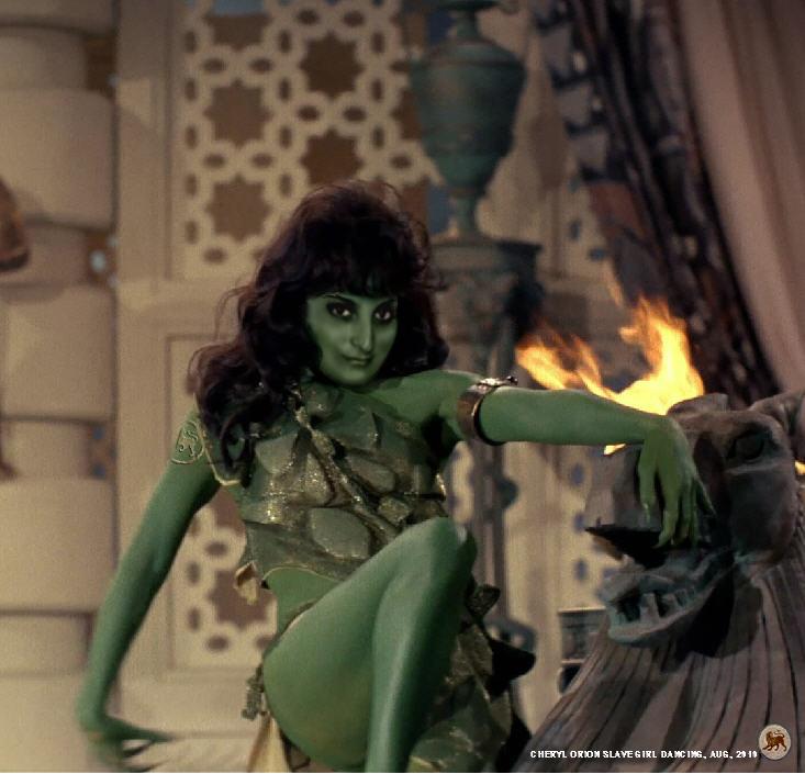 Cheryl as Orion Dancer by Paudraic