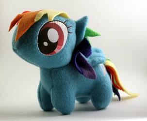Rainbow Dash Chibi Plush by TopPlush
