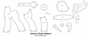 Free Alicorn Plush Pattern