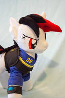 Blackjack Plush with Vault Suit and Security Vest by TopPlush