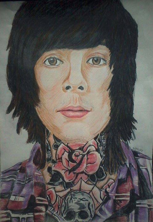 Oliver Sykes by Raphture