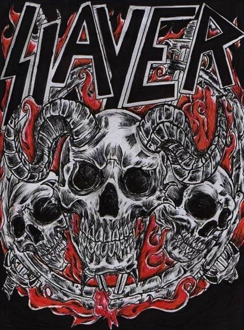SLAYER Fan Art Cover by Raphture