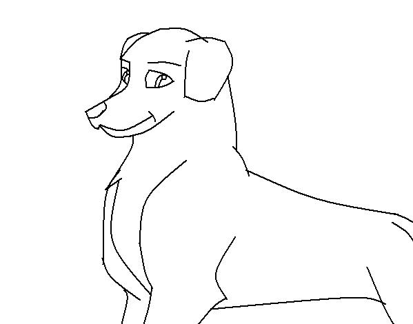 Line Art Dog : Dog lineart by serra on deviantart