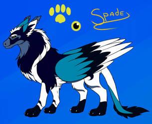 ''Spade'' WIP #1 by serra20