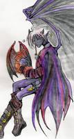 Ren, half-drow by dragonrhyme