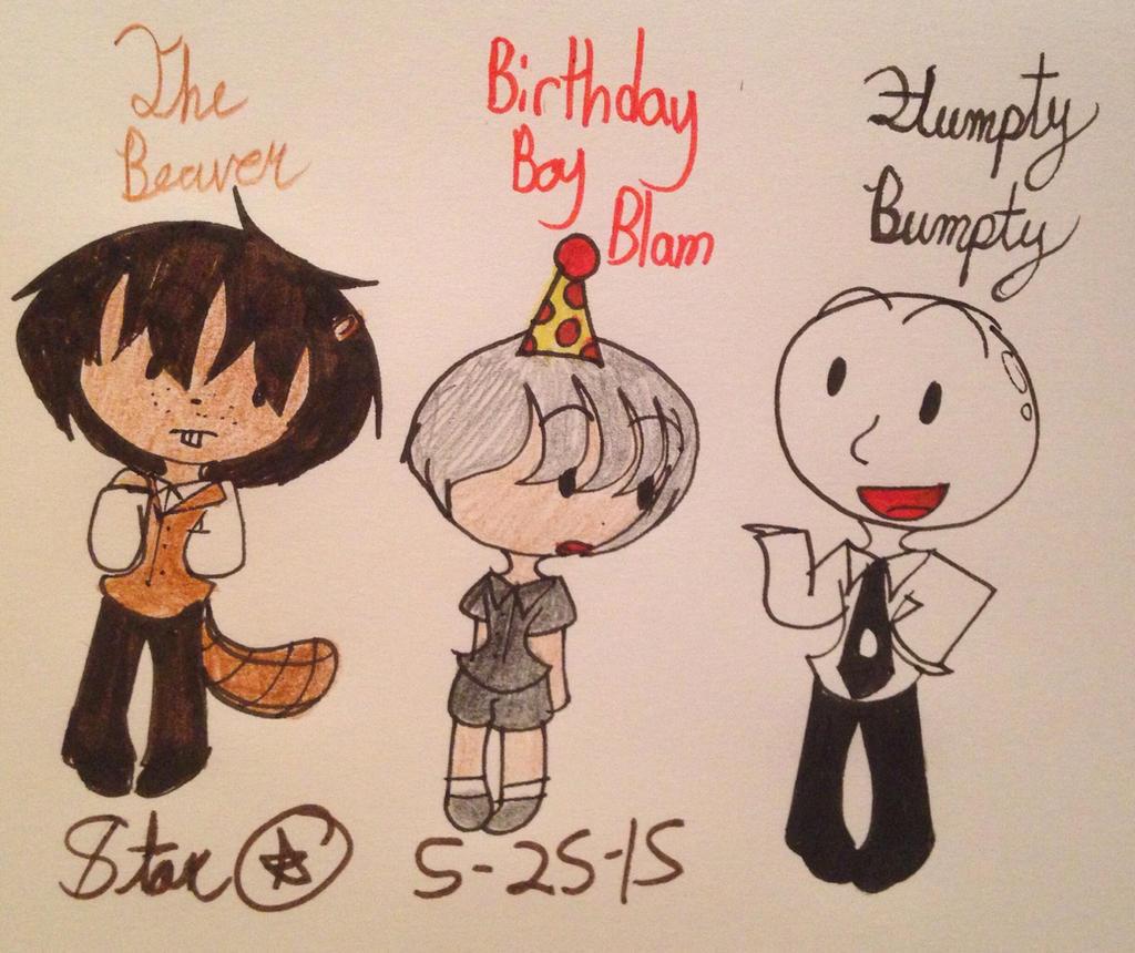 Birthday Boy Blam 3 By Nailesi: ONAF (Humanized) By Cosmic86 On DeviantArt