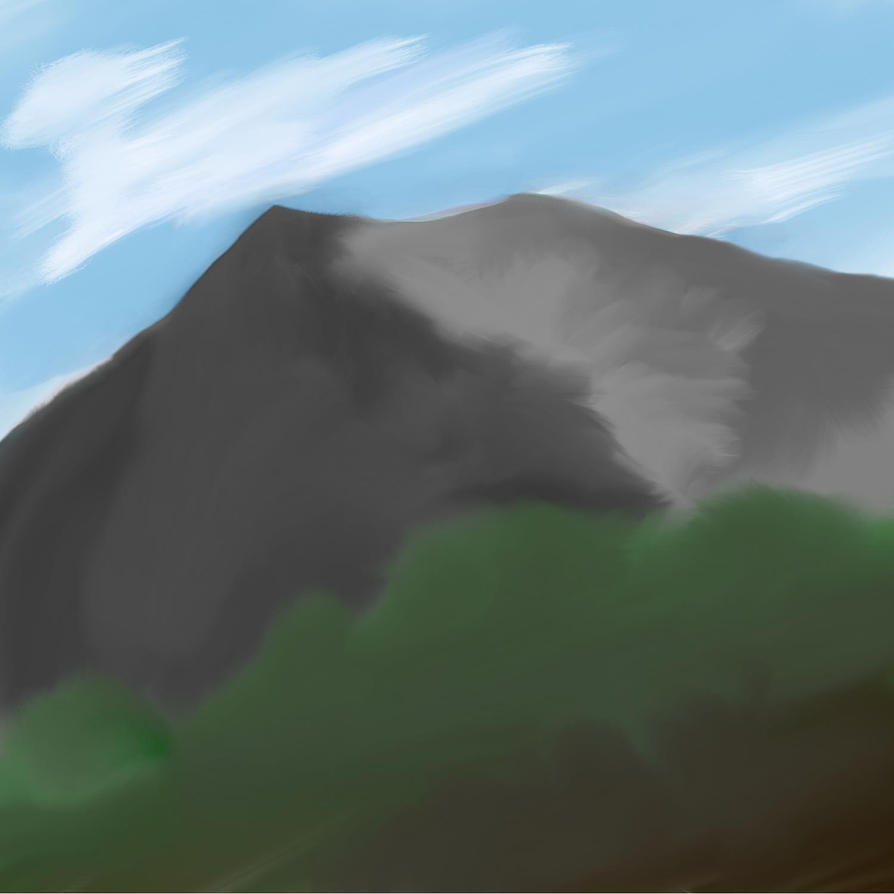 Mountain by woundedkneecap