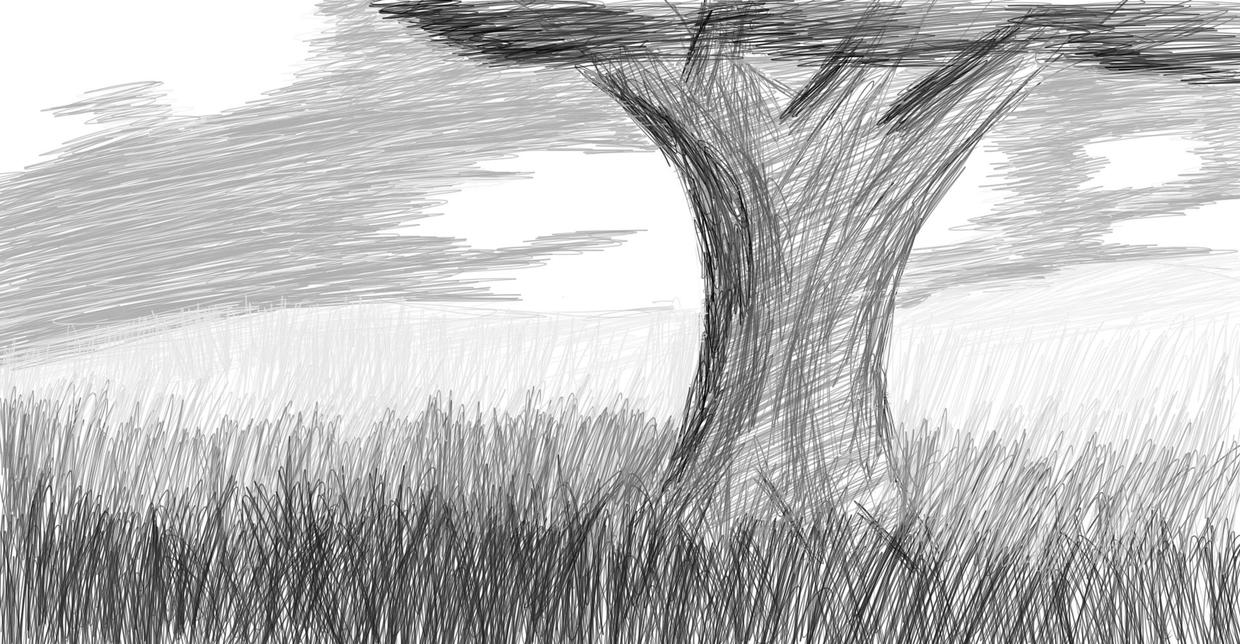 A Tree by woundedkneecap