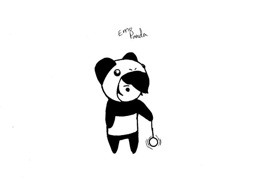 panda emo girl by - photo #10