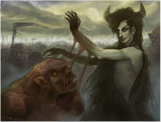 Marsh monsters creator by Quberon