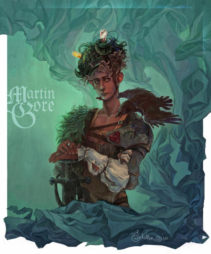 Martin Gore -Depeche mode by Quberon