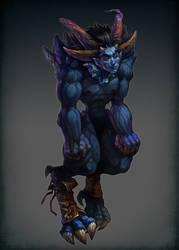 Demon by Quberon