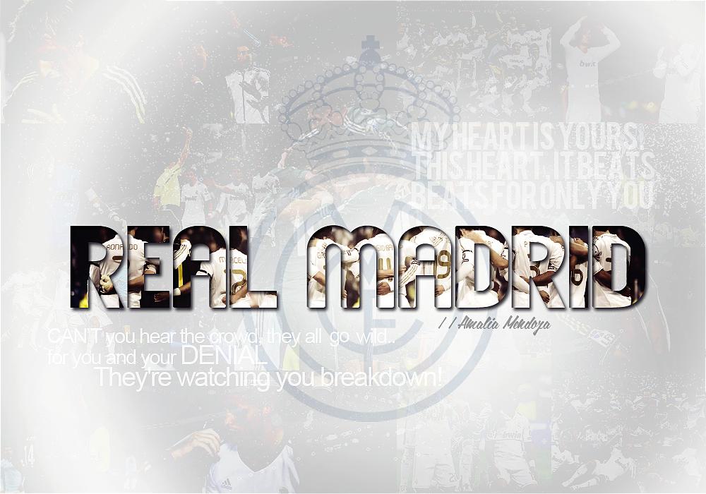 Real Madrid Wallpaper By Loveem08 On Deviantart