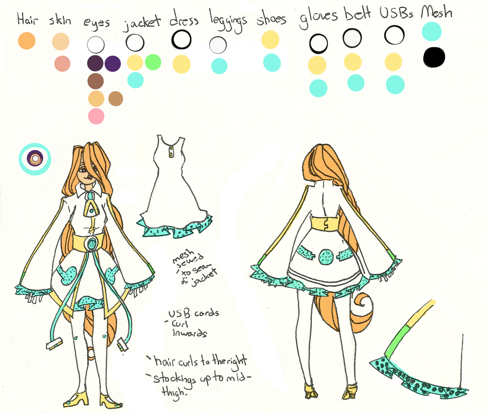 :UTAU::Suzume::Reference Sheet: by XturtleXmonkeyX