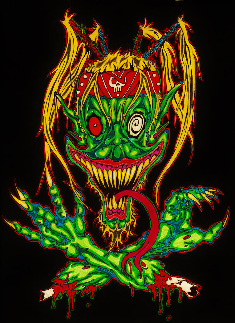 Wicked Clown Freakshow by Galbatorix666
