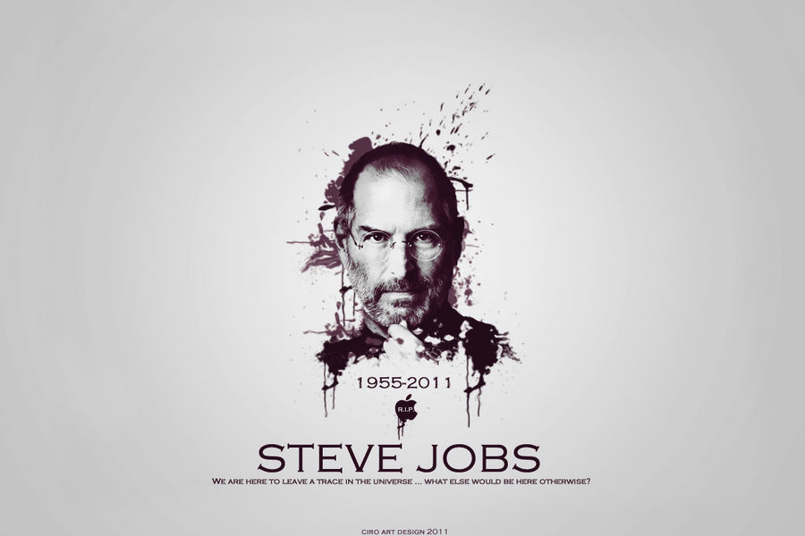 Steve Jobs by Cagliaritano4Ever