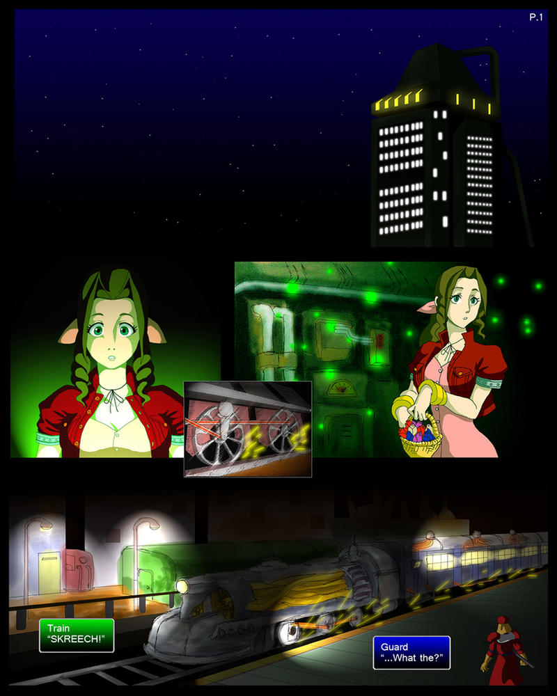 Final Fantasy 7 Page001 By ObstinateMelon On DeviantArt