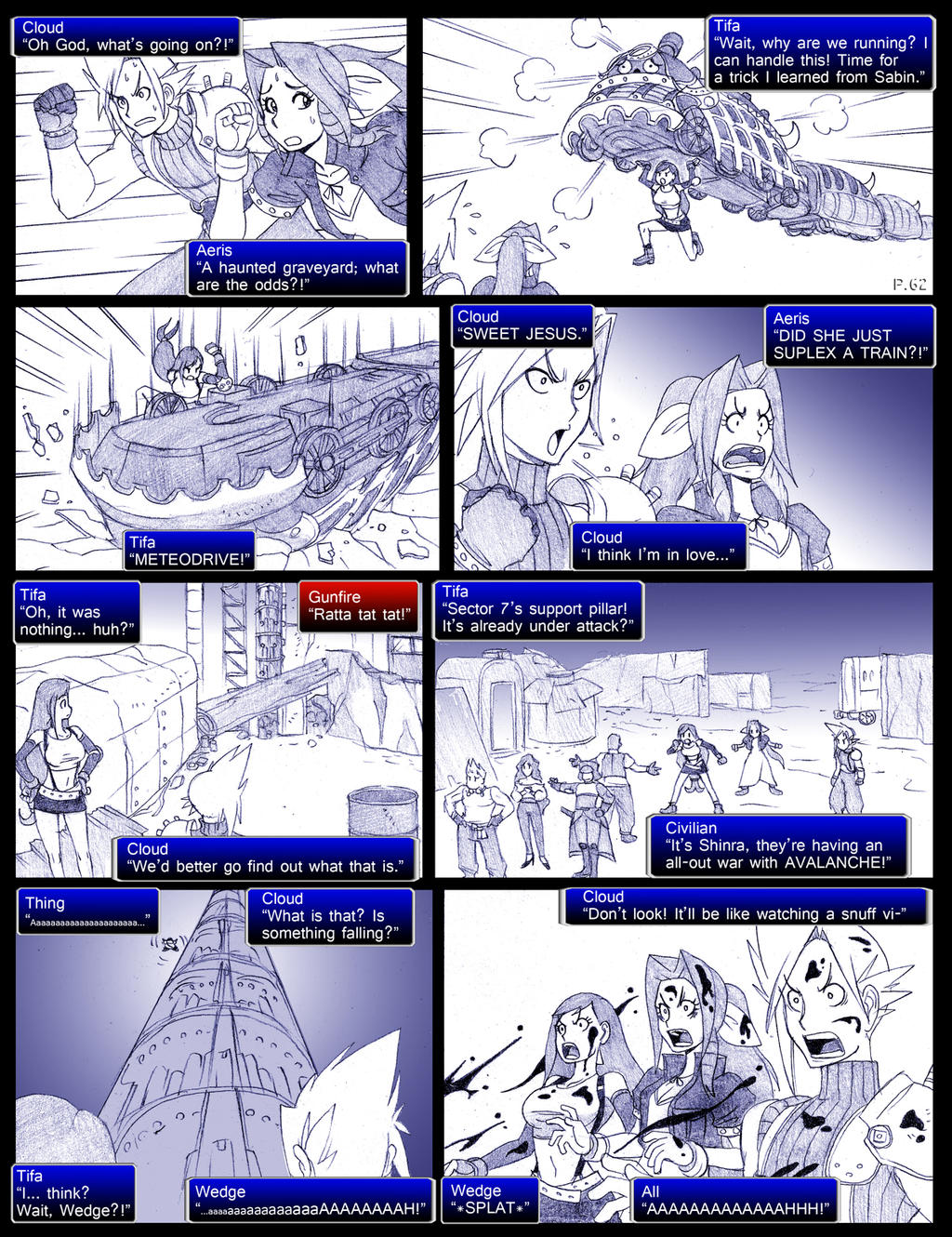 Final Fantasy 7 Page062 by ObstinateMelon