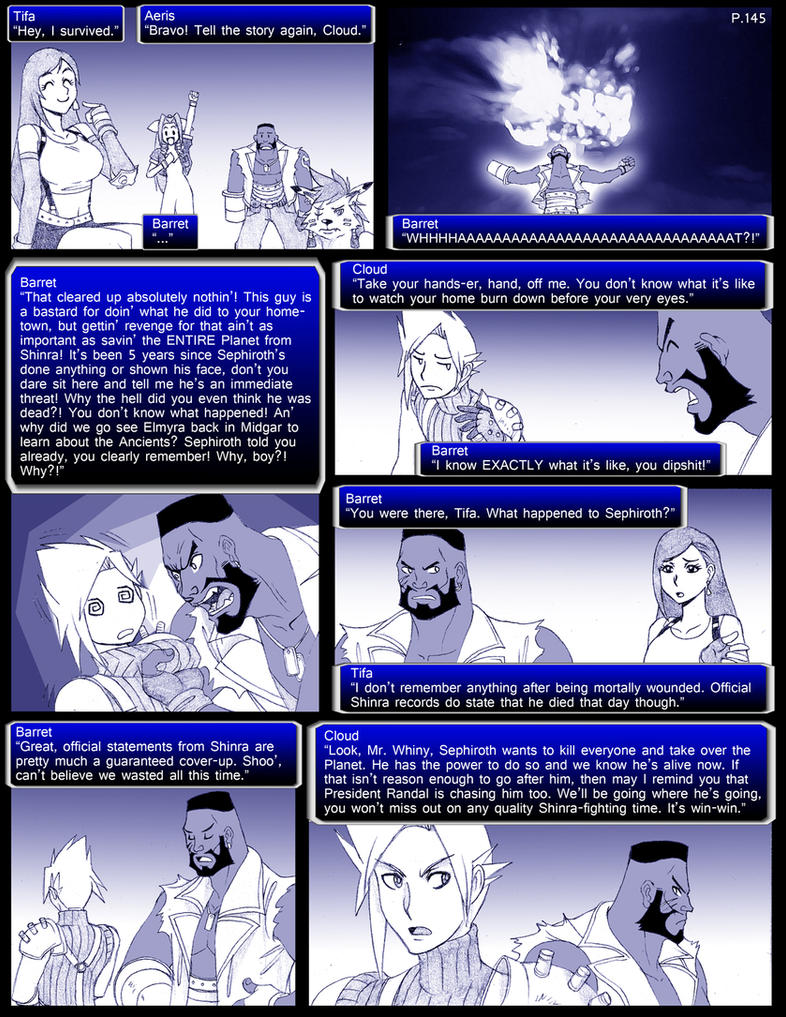Final Fantasy 7 Page145 by ObstinateMelon