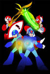 Mega Man Lineart