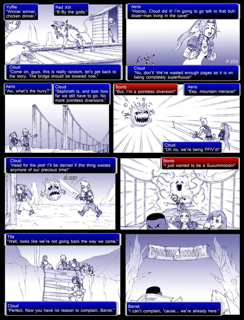 final fantasy 7 page203 by obstinatemelon on deviantart