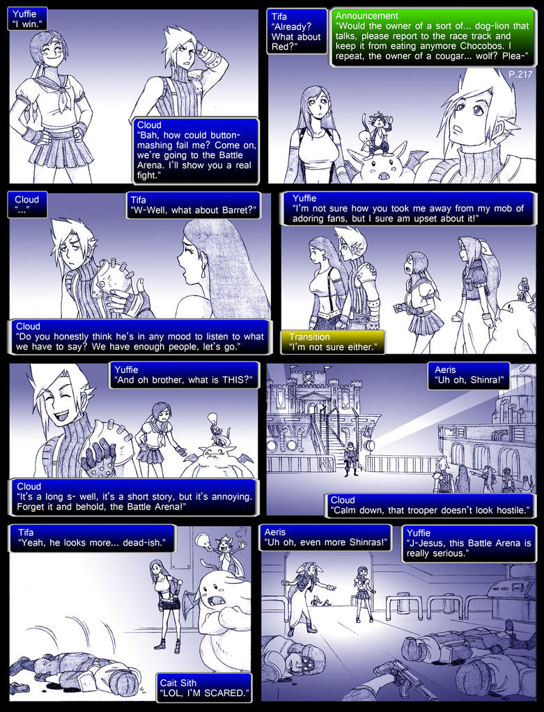 Final Fantasy 7 Page217 by ObstinateMelon