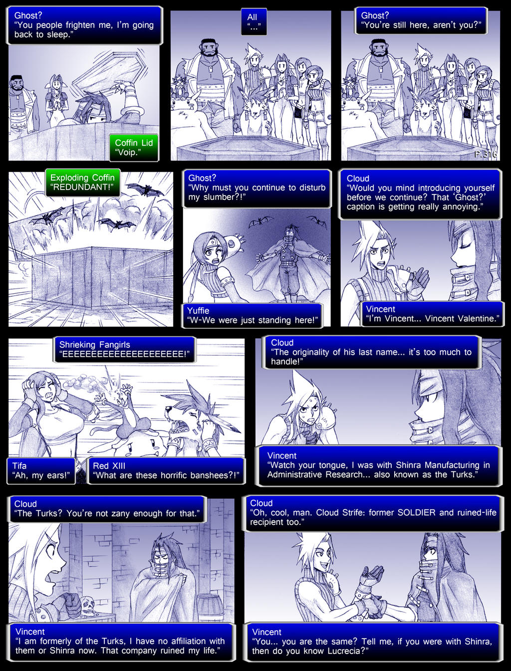 final fantasy 7 page316 by obstinatemelon on deviantart