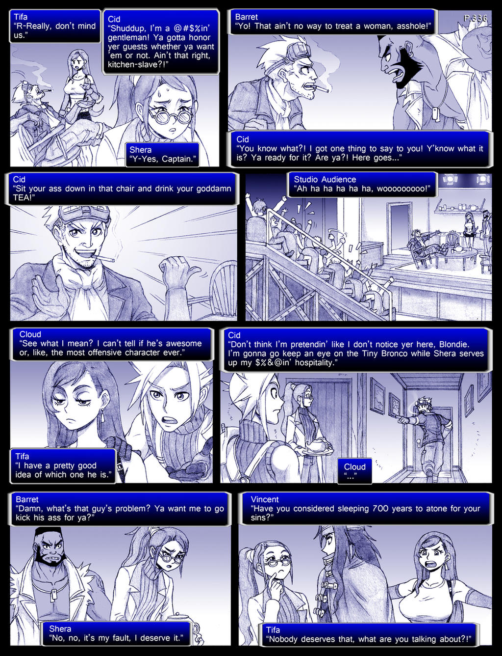 Final Fantasy 7 Page336 by ObstinateMelon