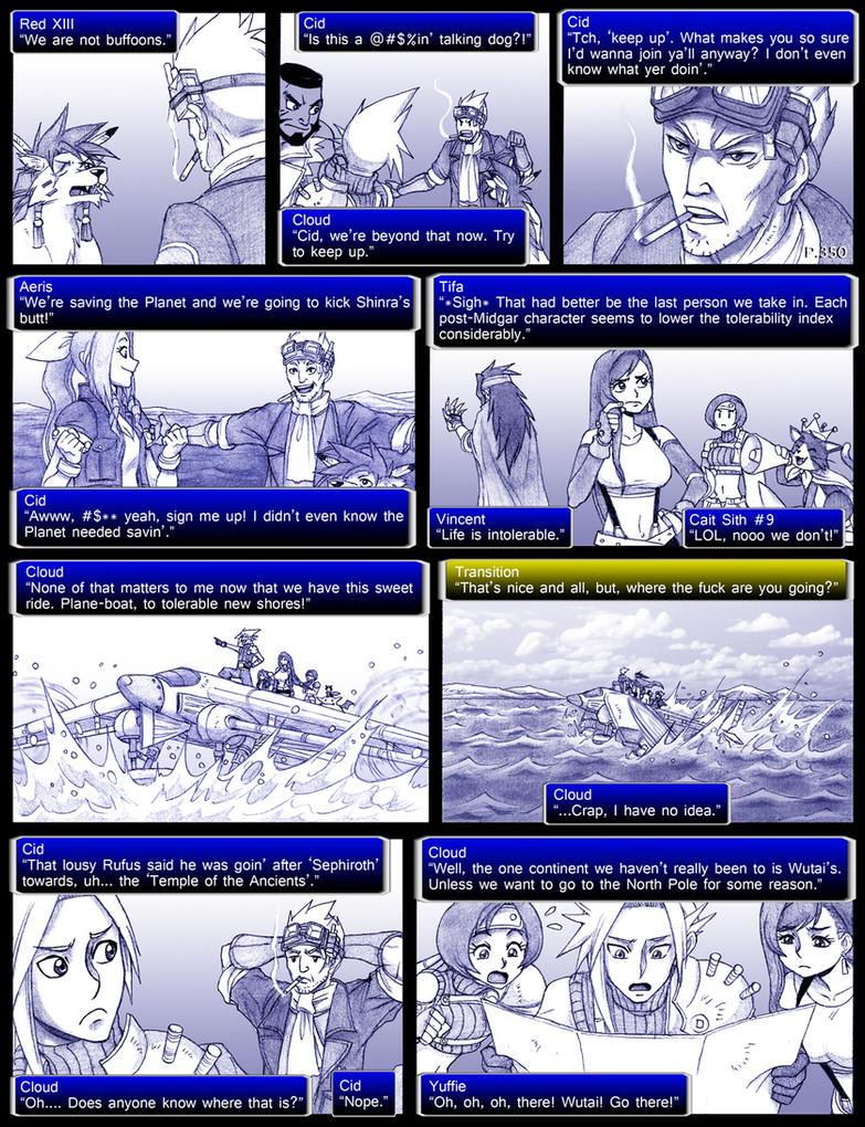 final fantasy 7 page350 by obstinatemelon on deviantart