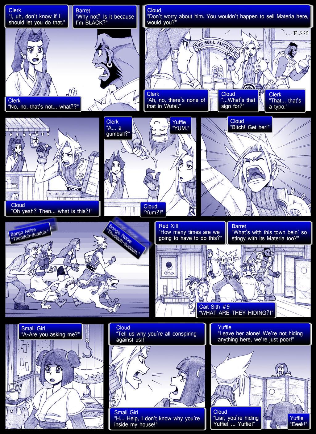 Final Fantasy 7 Page359 by ObstinateMelon