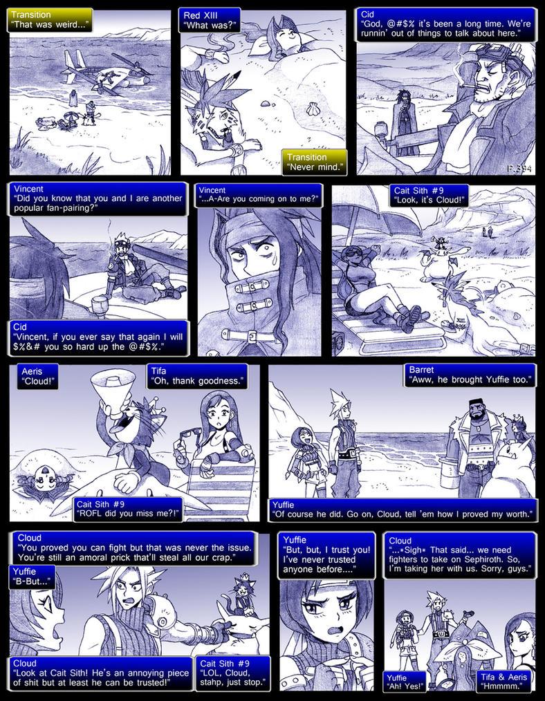 Final Fantasy 7 Page394 by ObstinateMelon