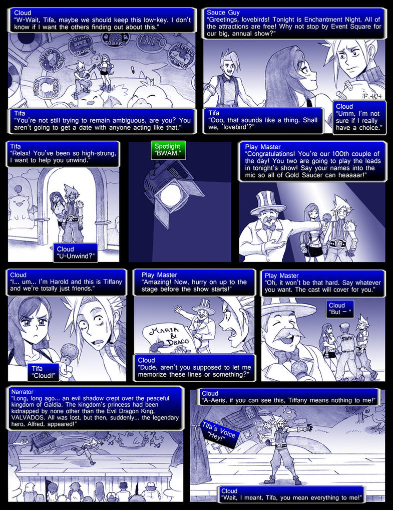 Final Fantasy 7 Page404 by ObstinateMelon
