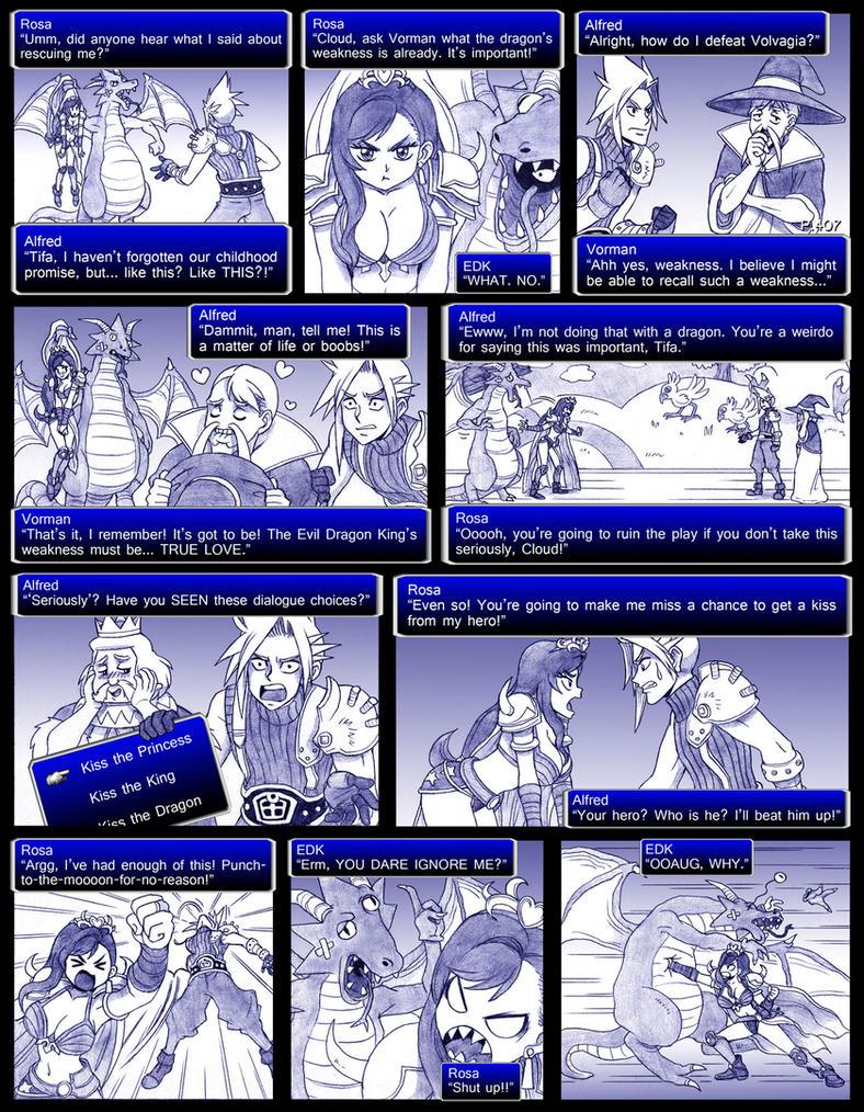 Final Fantasy 7 Page407 by ObstinateMelon