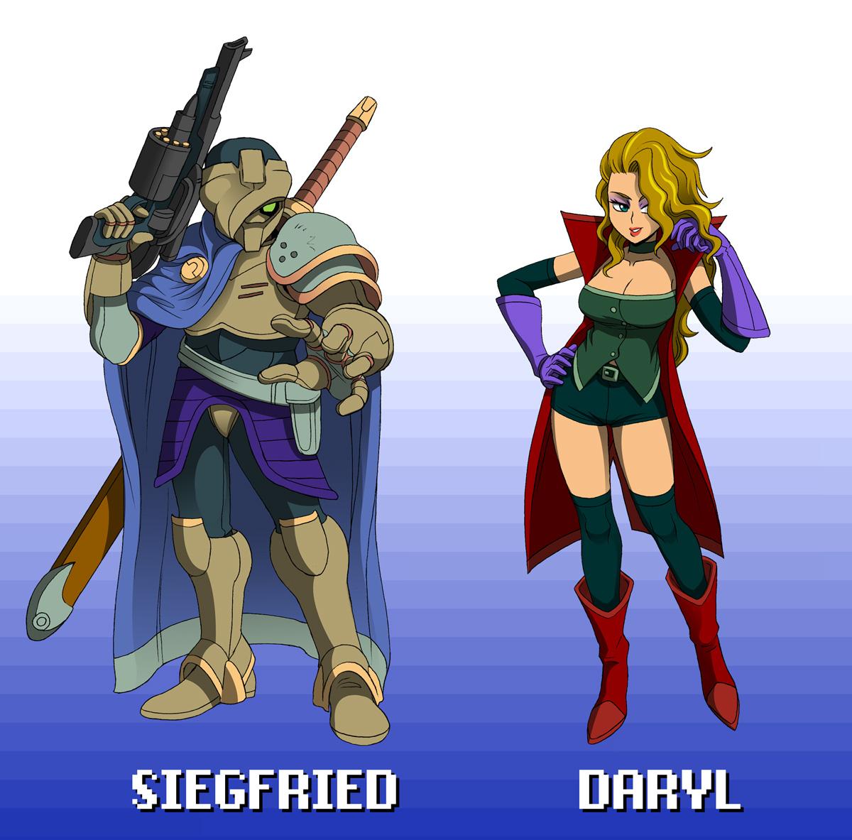 Siegfried and Daryl by ObstinateMelon