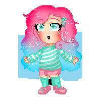 Gift | Mili Chibi Cute Pixel (SPEEDPAINT VIDEO!) by 524MatryRosenyu