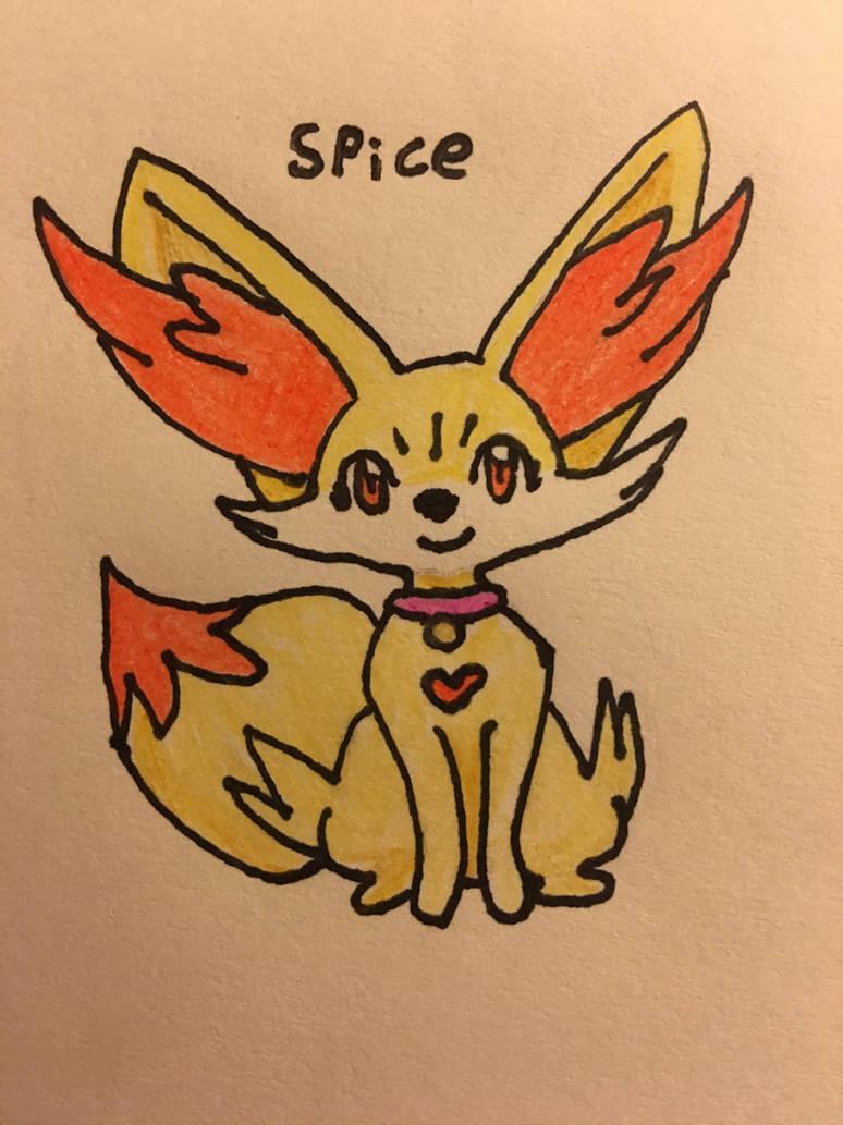 Spice the Fennekin by Micro-Beast on DeviantArt