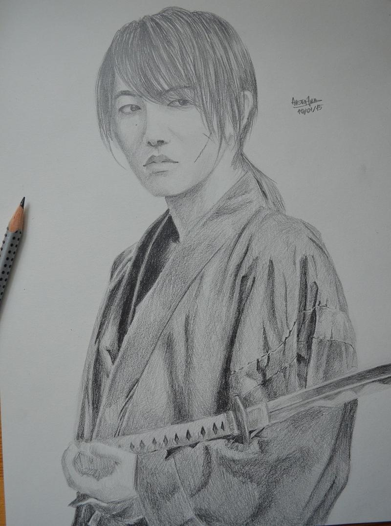 Takeru Sato as Kenshin Himura by AbstrakcyjnaJulia on ...